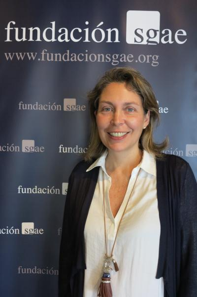 Cristina del Río, delegada de la SGAE en Canarias