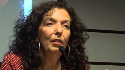 La escritora María Jesús Alvarado